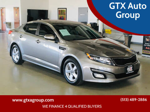 2014 Kia Optima for sale at GTX Auto Group in West Chester OH