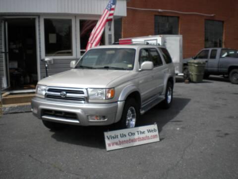 2000 Toyota 4Runner for sale at Ben Edwards Auto in Waynesboro VA