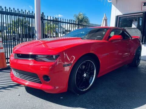 2015 Chevrolet Camaro for sale at Meru Motors in Hollywood FL