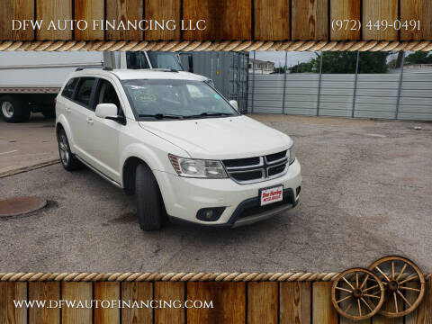 2017 Dodge Journey for sale at DFW AUTO FINANCING LLC in Dallas TX
