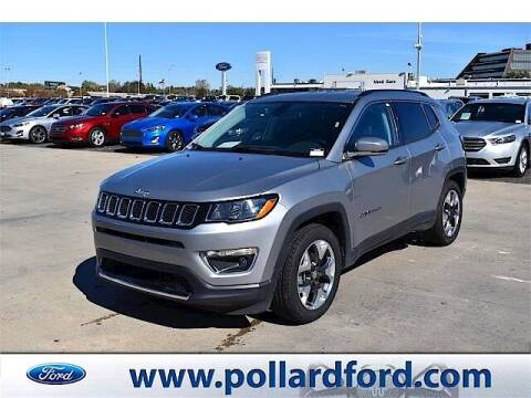 2019 Jeep Compass for sale at South Plains Autoplex by RANDY BUCHANAN in Lubbock TX