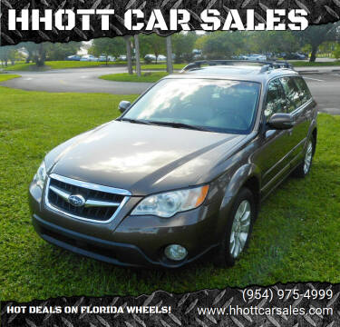 2008 Subaru Outback for sale at HHOTT CAR SALES in Deerfield Beach FL