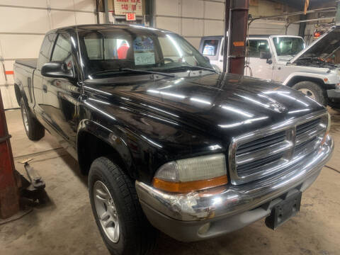 2002 Dodge Dakota for sale at BURNWORTH AUTO INC in Windber PA