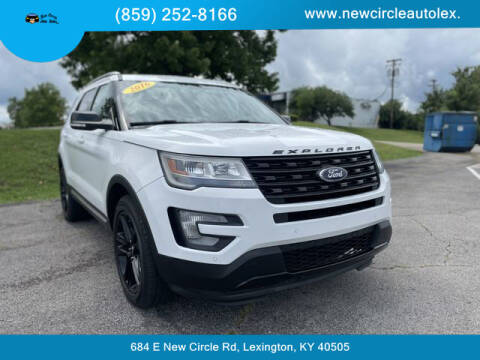 2016 Ford Explorer for sale at New Circle Auto Sales LLC in Lexington KY