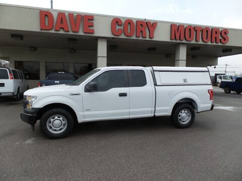 2016 Ford F-150 for sale at DAVE CORY MOTORS in Houston TX