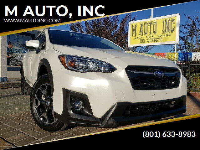2018 Subaru Crosstrek for sale at M AUTO, INC in Millcreek UT