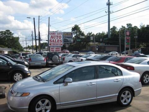2008 Honda Civic for sale at LAKE CITY AUTO SALES in Forest Park GA