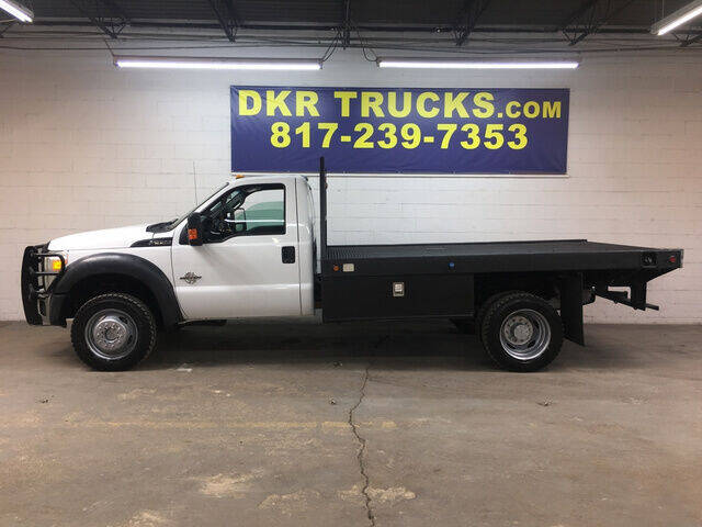 2013 Ford F-550 Super Duty for sale at DKR Trucks in Arlington TX