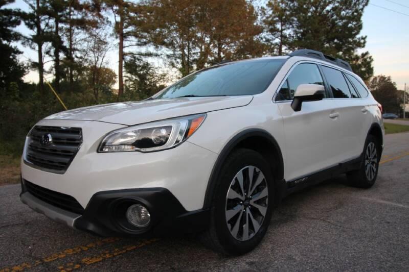 2015 Subaru Outback for sale at Oak City Motors in Garner NC
