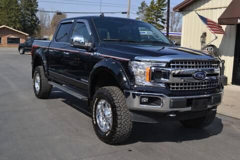 2019 Ford F-150 for sale at Nick's Motor Sales LLC in Kalkaska MI
