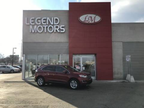 2017 Ford Edge for sale at Legend Motors of Detroit - Legend Motors of Ferndale in Ferndale MI