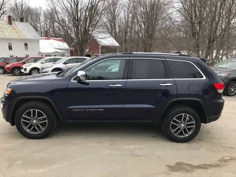 2017 Jeep Grand Cherokee for sale at MICHAEL MOTORS in Farmington ME