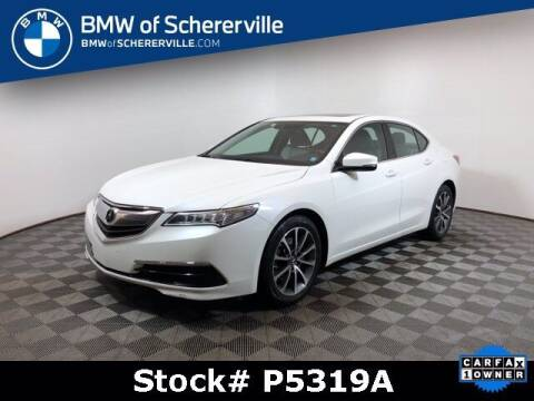 2015 Acura TLX for sale at BMW of Schererville in Shererville IN