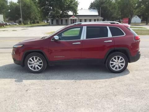 2016 Jeep Cherokee for sale at BRETT SPAULDING SALES in Onawa IA