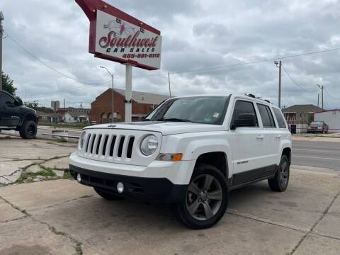2016 Jeep Patriot for sale at Southwest Car Sales in Oklahoma City OK