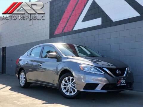 2019 Nissan Sentra for sale at Auto Republic Fullerton in Fullerton CA