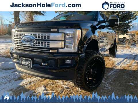 2019 Ford F-350 Super Duty for sale at Jackson Hole Ford of Alpine in Alpine WY