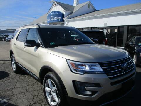 2017 Ford Explorer for sale at AUTO FACTORY INC in East Providence RI