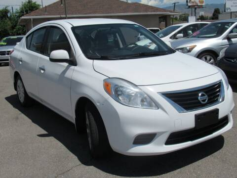 2014 Nissan Versa for sale at Crown Auto in South Salt Lake UT