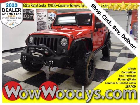 2018 Jeep Wrangler JK Unlimited for sale at WOODY'S AUTOMOTIVE GROUP in Chillicothe MO