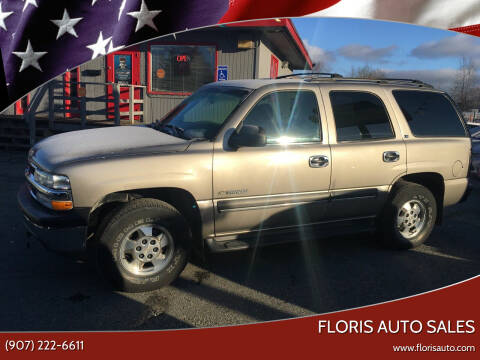 2002 Chevrolet Tahoe for sale at FLORIS AUTO SALES in Anchorage AK