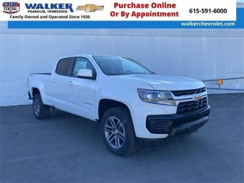 2021 Chevrolet Colorado for sale at WALKER CHEVROLET in Franklin TN