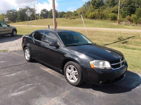 2009 Dodge Avenger for sale at LEWIS AUTO in Mountain Home AR