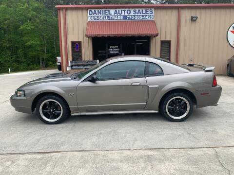 2002 Ford Mustang for sale at Daniel Used Auto Sales in Dallas GA