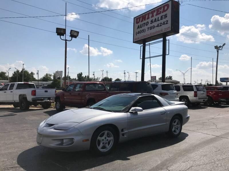 1998 Pontiac Firebird for sale at United Auto Sales in Oklahoma City OK