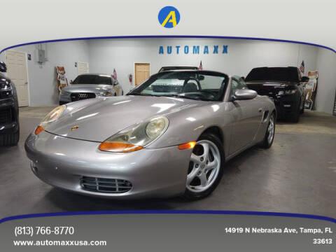 2001 Porsche Boxster for sale at Automaxx in Tampa FL