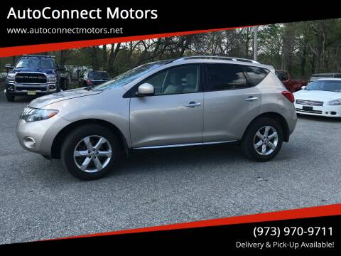 2009 Nissan Murano for sale at AutoConnect Motors in Kenvil NJ