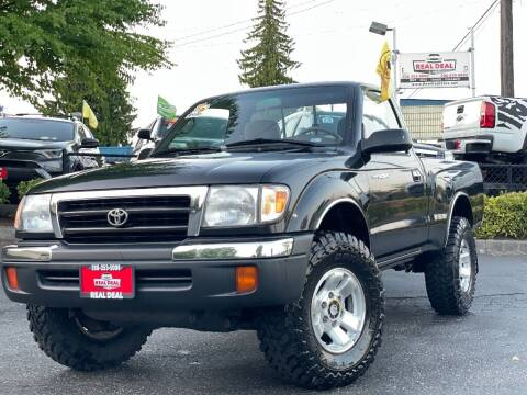 2000 Toyota Tacoma for sale at Real Deal Cars in Everett WA