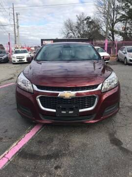 2015 Chevrolet Malibu for sale at Fast and Friendly Auto Sales LLC in Decatur GA