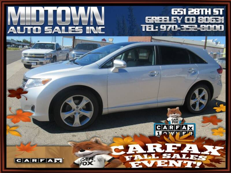 2014 Toyota Venza for sale at MIDTOWN AUTO SALES INC in Greeley CO