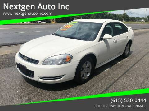 2009 Chevrolet Impala for sale at Nextgen Auto Inc in Smithville TN