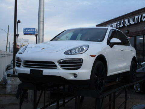 2014 Porsche Cayenne for sale at SOUTHFIELD QUALITY CARS in Detroit MI
