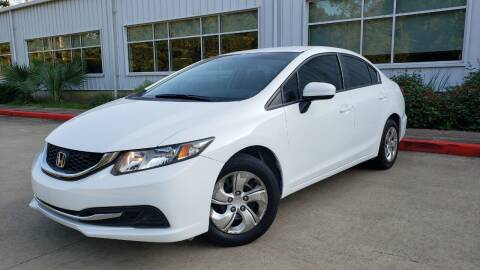 2015 Honda Civic for sale at Houston Auto Preowned in Houston TX