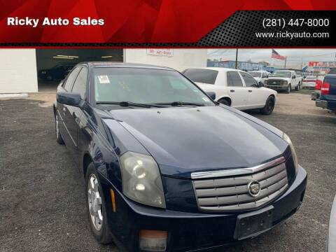 2004 Cadillac CTS for sale at Ricky Auto Sales in Houston TX
