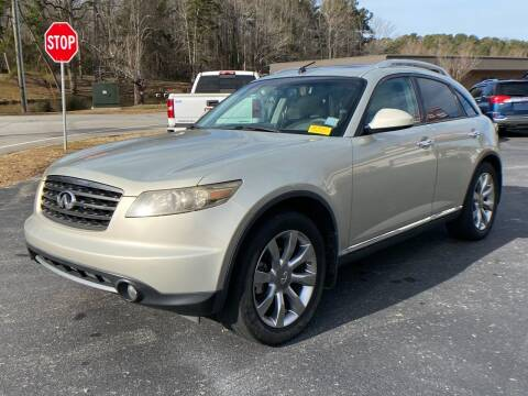 2007 Infiniti FX35 for sale at Luxury Auto Innovations in Flowery Branch GA