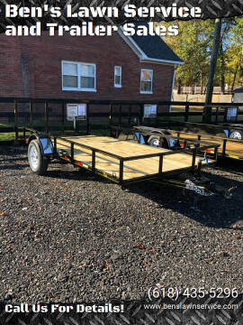 2020 Trailer Express 14'NonTilt for sale at Ben's Lawn Service and Trailer Sales in Benton IL