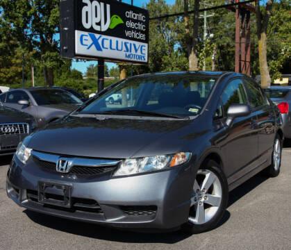 2010 Honda Civic for sale at EXCLUSIVE MOTORS in Virginia Beach VA