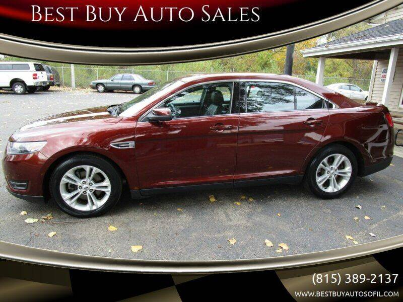 2015 Ford Taurus for sale at Best Buy Auto Sales in South Beloit IL