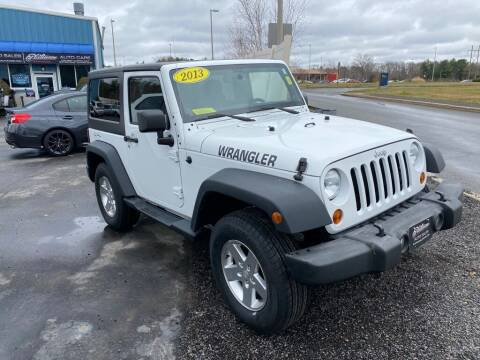2013 Jeep Wrangler for sale at Platinum Auto in Abington MA