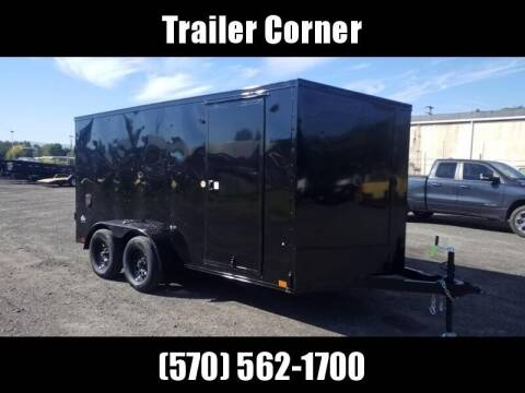 2022 Look Trailers STLC 7X14 - BLACKED OUT