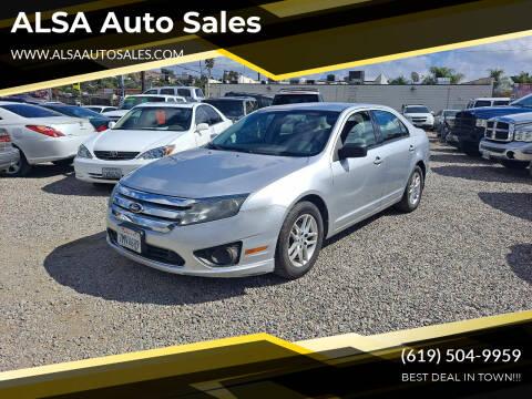 2012 Ford Fusion for sale at ALSA Auto Sales in El Cajon CA