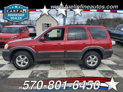 2006 Mazda Tribute for sale at FUELIN FINE AUTO SALES INC in Saylorsburg PA