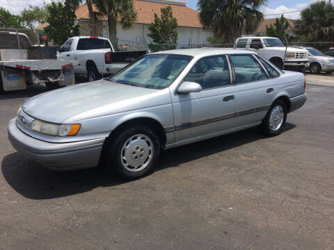 1992 Ford Taurus for sale at CAR-RIGHT AUTO SALES INC in Naples FL