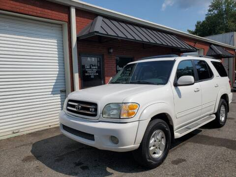 2001 Toyota Sequoia for sale at One Source Automotive Solutions in Braselton GA