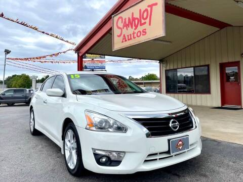 2015 Nissan Altima for sale at Sandlot Autos in Tyler TX