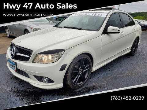 2010 Mercedes-Benz C-Class for sale at Hwy 47 Auto Sales in Saint Francis MN